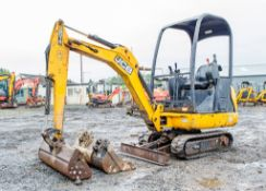 JCB 8014 CTS 1.5 tonne rubber tracked mini excavator Year: 2014 S/N: 2073493 Recorded Hours: 1892