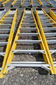 10 treadglass fibre framed step ladder 3328-0803
