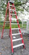 Clow 10 tread glass fibre step ladder VP