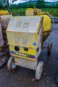 Winget electric start diesel driven site mixer 3537