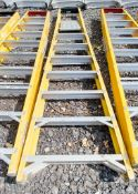 8 treadglass fibre framed step ladder WOOXAG46