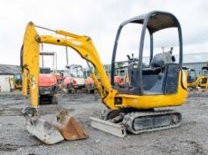 JCB 8014 CTS 1.5 tonne rubber tracked mini excavator Year: 2006 S/N: E1156801 Recorded Hours: 943