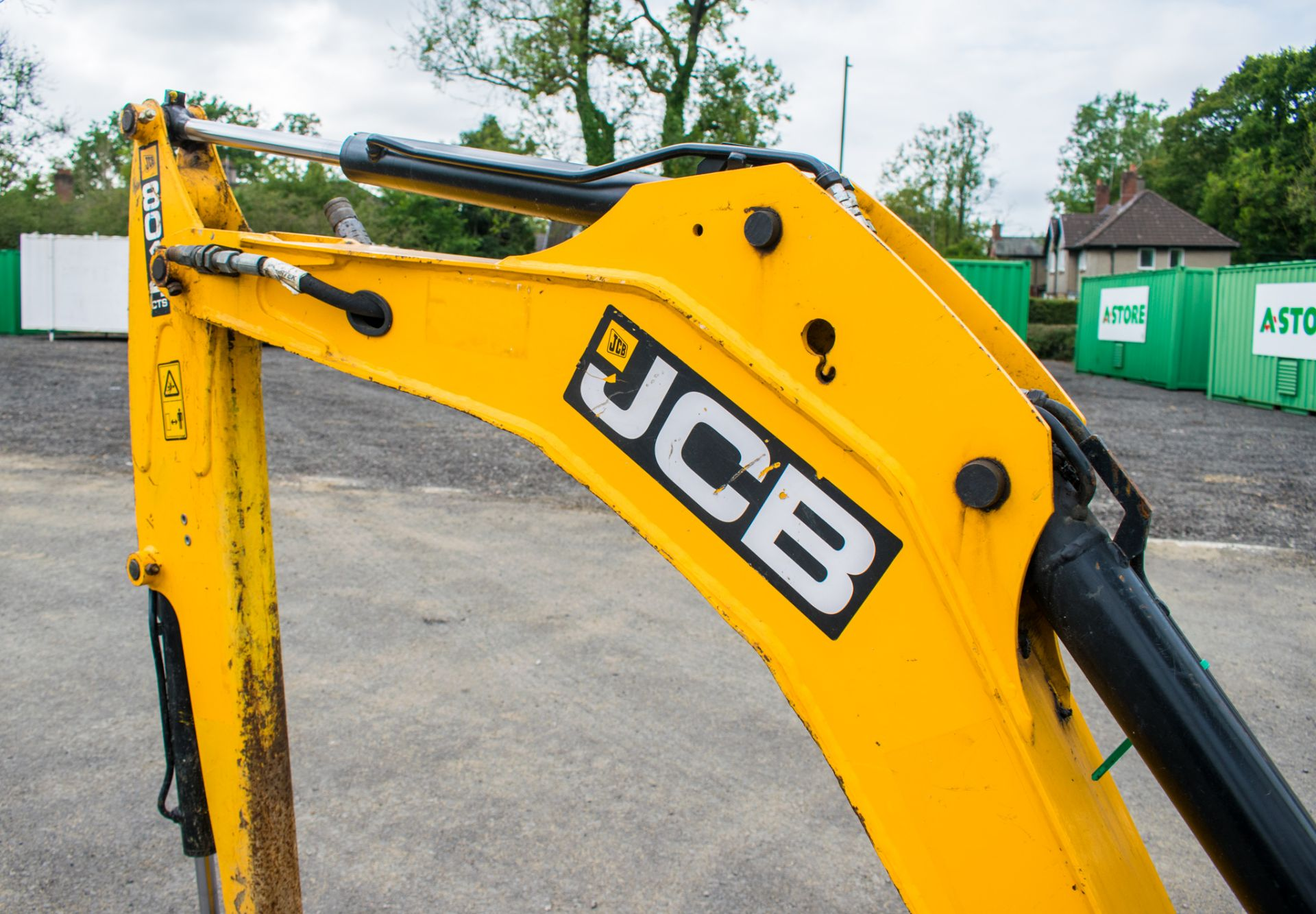 Lot 18 - JCB 8014 CTS 1.4 tonne rubber tracked mini excavator Year: 2014 S/N: 70481 Recorded Hour: 1527