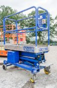 Power Tower push around battery electric scissor lift Year: 2008 S/N: 4110908A 08P10002