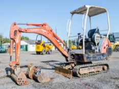 Kubota KX36-3 1.5 tonne rubber tracked mini excavator Year: 2004 S/N: Z055397 Recorded Hours: 3716