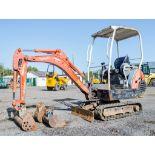 Kubota KX36-3 1.5 tonne rubber tracked mini excavator Year: 2004 S/N: Z055397 Recorded Hours: 3716
