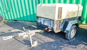 Ingersoll Rand 741 diesel driven fast tow mobile air compressor Year: 2007 S/N: 424830 Recorded
