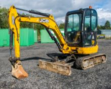 JCB 8030 ZTS 3 tonne zero tail swing rubber tracked excavator Year: 2013 S/N: 2021812 Recorded