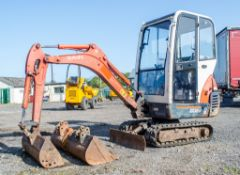 Kubota KX36-3 1.5 tonne rubber tracked mini excavator Year: 2007 S/N: Z077298 Recorded Hours: 4205