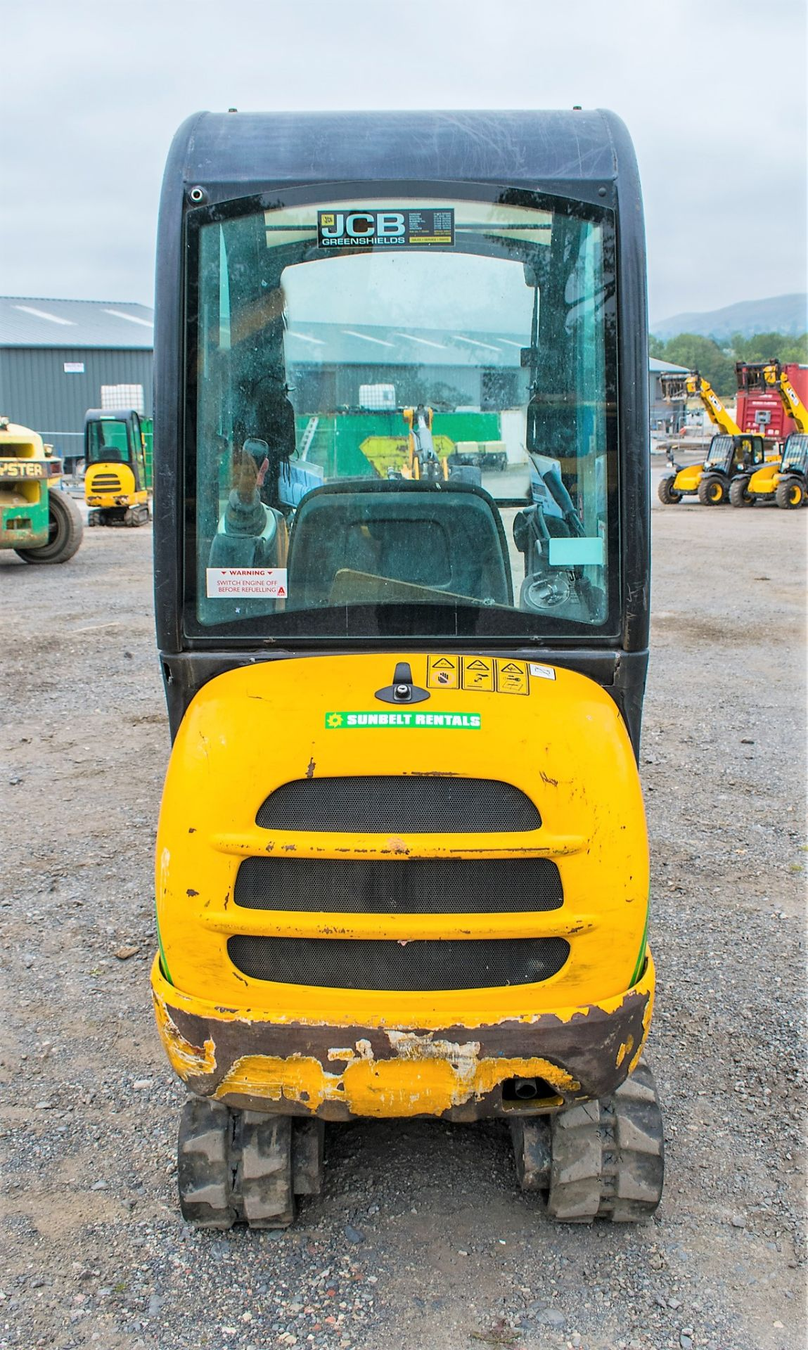Lot 19A - JCB 8016 1.6 tonne rubber tracked excavator Year: 2013 S/N: 71469 Recorded Hours: 1855 A602773
