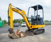 JCB 8014 CTS 1.4 tonne rubber tracked mini excavator  Year: 2014 S/N: 70483 Recorded Hour: 1700