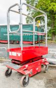 Pop Up push around battery electric scissor lift Year: 2008 S/N: PUP3296 08FT0241
