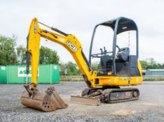 JCB 8014 CTS 1.4 tonne rubber tracked mini excavator  Year: 2014 S/N: 70474 Recorded Hour: 2199