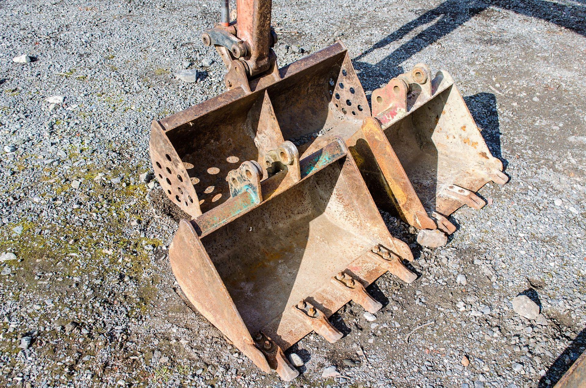 Kubota KX36-3 1.5 tonne rubber tracked mini excavator Year: 2007 S/N: Z077298 Recorded Hours: 4205 - Image 12 of 18