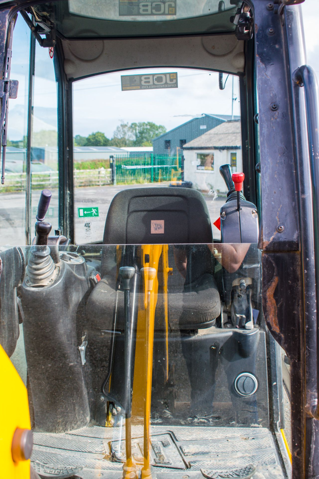 Lot 15 - JCB 8016 1.6 tonne rubber tracked mini excavator Year: 2013 S/N: 2071336 Recorded Hours: 1890