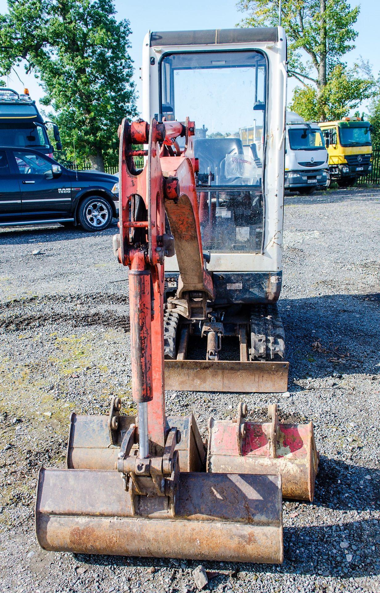 Kubota KX36-3 1.5 tonne rubber tracked mini excavator Year: 2007 S/N: Z077298 Recorded Hours: 4205 - Image 5 of 18