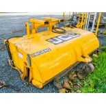 JCB SC240 hydraulic sweeper S/N: 56884 ** Sweeper brush & others parts missing **