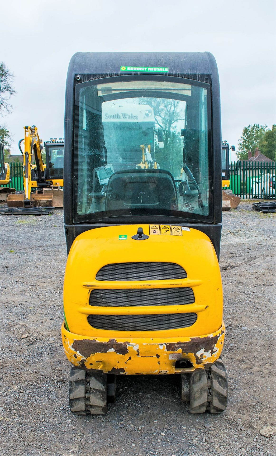 JCB 8016 1.6 tonne rubber tracked excavator  Year: 2015 S/N: 1733 Recorded Hours: 1861 A669405 - Image 6 of 20