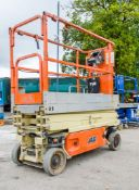 JLG 1930ES battery electric scissor lift access platform Year: 2012 S/N: 4495 Recorded Hours: 213