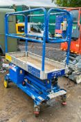 Power Tower push around battery electric scissor lift access platform HYP100