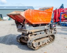 Cormidi 65 650kg diesel driven tracked walk behind Hi-Tip dumper Year: 2005 S/N: 10698740 Recorded