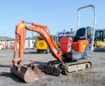 Kubota KX008-3 0.8 tonne rubber tracked micro excavator Year: 2006 S/N: 13422 Recorded Hours: 1607