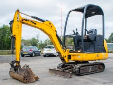 JCB 8014 CTS 1.4 tonne rubber tacked mini excavator  Year: 2014 S/N: 70495 Recorded Hour: 1706