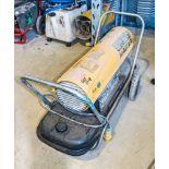 Master 110v diesel fuelled space heater CO