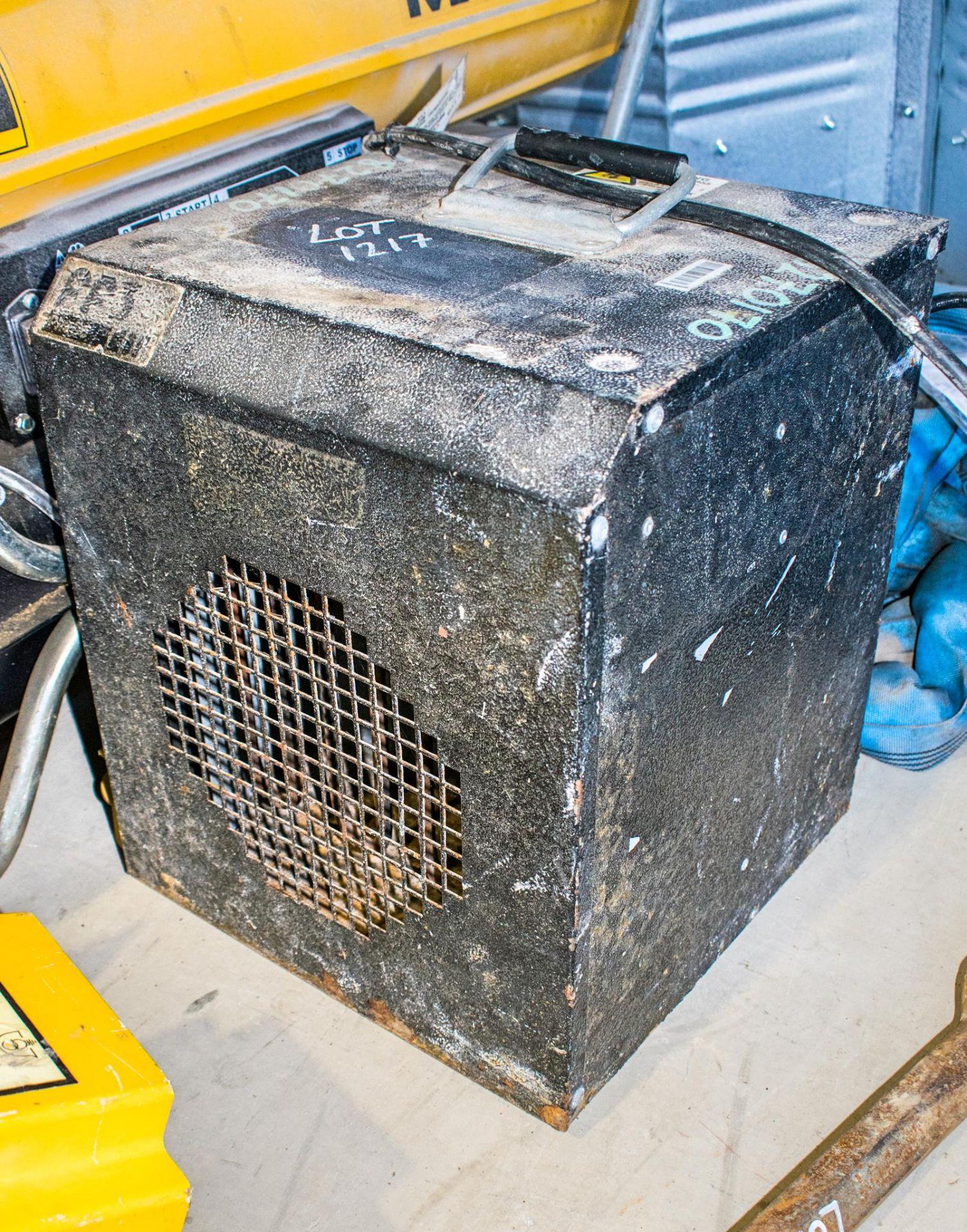 Fireflo 240v fan heater CO