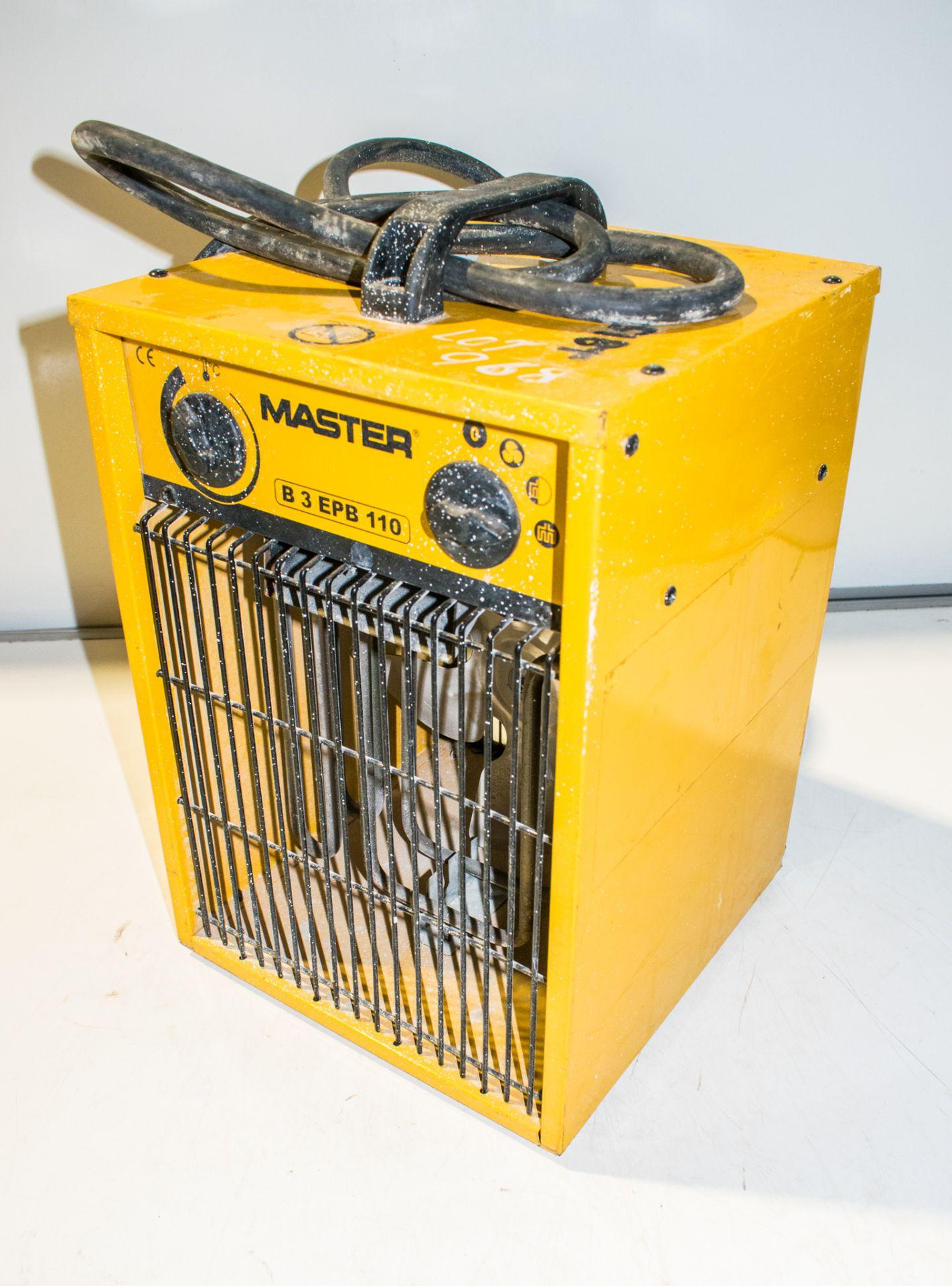 Lot 968 - Master 110v fan heater