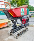 Winget TD500HL petrol driven tracked pedestrian dumper A742953 ** Pull cord assembly missing **