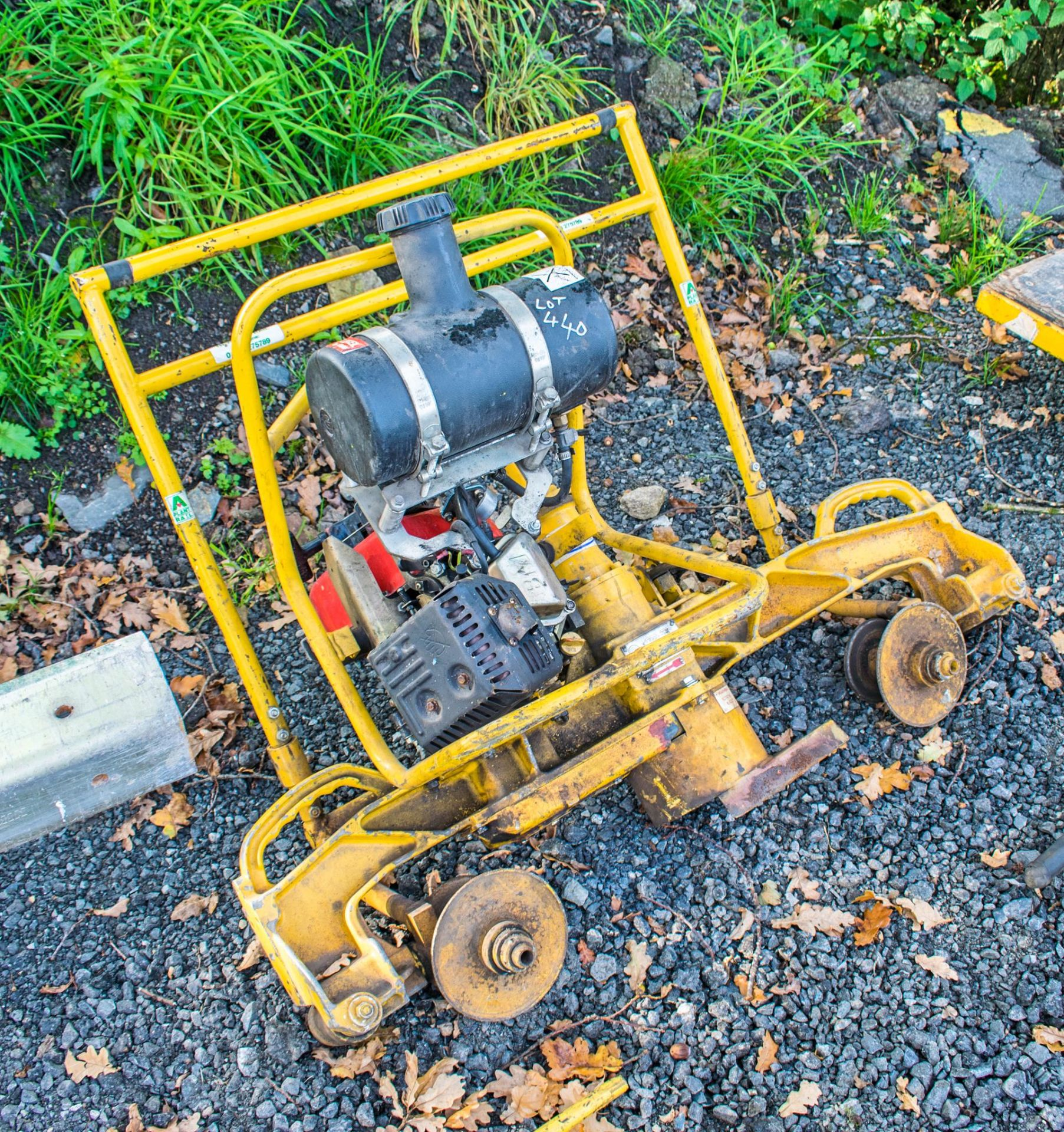 Geismar petrol driven rail grinder A747461