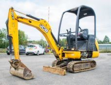 JCB 8014 CTS 1.4 tonne rubber tracked mini excavator  Year: 2014 S/N: 70481 Recorded Hour: 1527