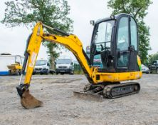 JCB 8016 1.6 tonne rubber tracked excavator  Year: 2013 S/N: 71469 Recorded Hours: 1855 A602773