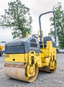 Bomag BW80 double drum ride on roller Year: 2006 S/N:101460426618 Recorded Hours: 1579 S8083