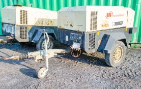 Ingersoll Rand 741 diesel driven fast tow mobile air compressor Year: 2008 S/N: 425906 Recorded