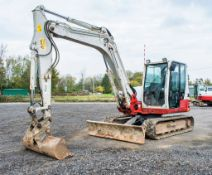 Takeuchi TB290 8.5 tonne rubber tracked excavator Year: 2014 S/N: 00158 Recorded Hours: 7040