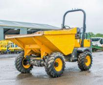 Benford Terex TA3 3 tonne straight skip dumper Year: 2017 S/N: PA3302 Reg: Q248 PJJ Recorded hours: