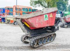 Winget TD500HL 500kg petrol driven hi-tip rubber tracked pedestrian dumper A752577 ** Engine