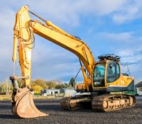 Hyundai Robex 210 LC-9 21 tonne steel tracked excavator Year: 2014 S/N: 00062337 Recorded Hours: