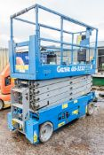 Genie GS3232 32 ft battery electric scissor lift access platform Year: 2015 S/N: 138814 Recorded