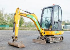 JCB 801.6 CTS 1.5 tonne rubber tracked mini excavator Year: 2014 S/N: 2071611 Recorded Hours: 1927