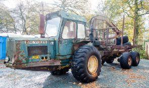Volvo BM 6 wheel forest forwarder