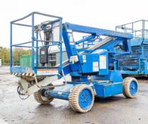 Nifty HR12 NDE 12 metre battery/diesel articulated boom access platform Year: 2008 S/N: 17679
