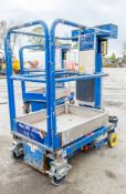 JLG Power Towers Nano push around battery electric personnel lift