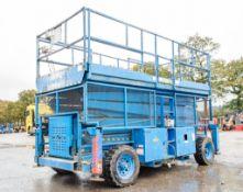 Skyjack SJ9250 50ft Rough Terrain 4 x 4 diesel driven mobile scissor lift access platform Year: 2007