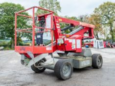 Nifty HR12NDE Heightrider diesel/battery electric articulated boom access platform Year: 2010 Serial