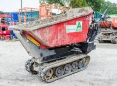 Winget TD500HL 500kg petrol driven hi-tip rubber tracked pedestrian dumper A646835 ** Engine