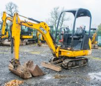 JCB 8014 CTS 1.5 tonne rubber tracked mini excavator Year: 2014 S/N: 2070466 Recorded Hours: