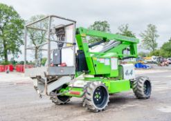 Nifty HR12 4WD diesel driven articulated boom access platform Year: 2014 S/N: 29136 A644582